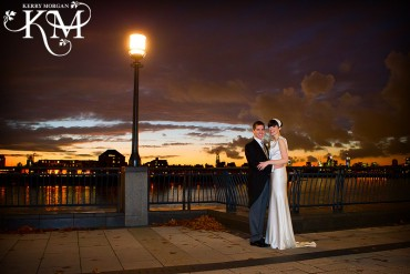 Wedding photos docklands