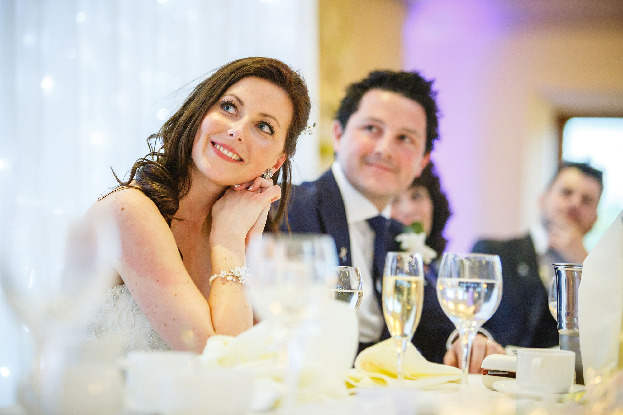 bride at chislehurst wedding