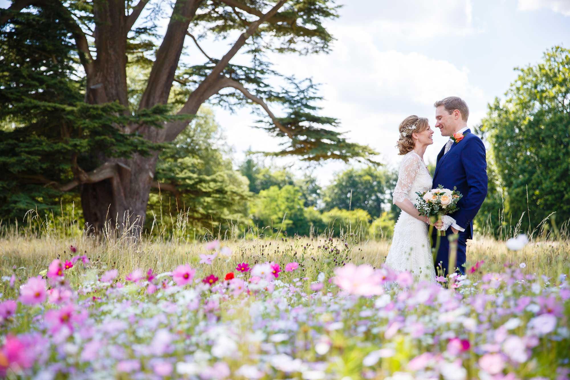 wild flower meadow chislehurst wedding photographer