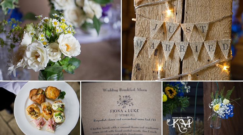 court lodge barn wedding tables