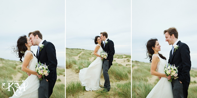 rye beach wedding