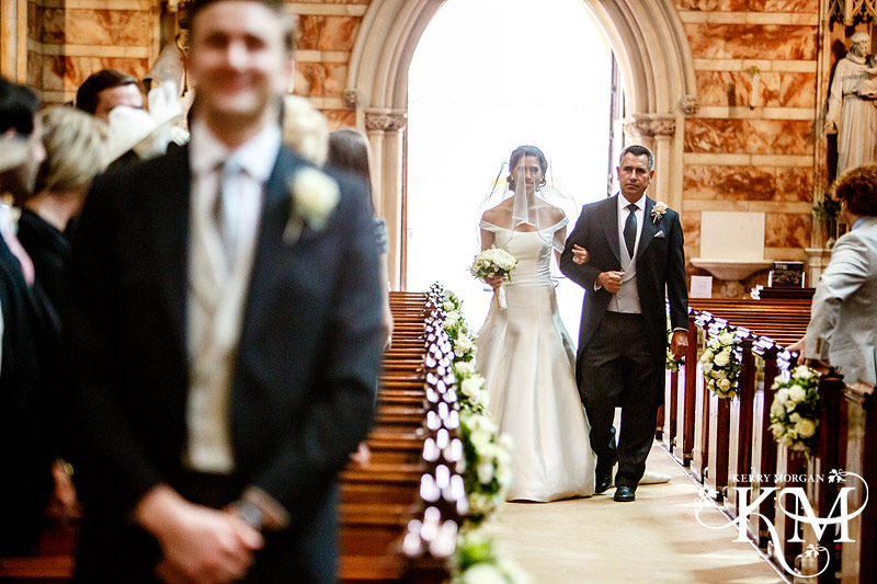 Farm Street Church London wedding