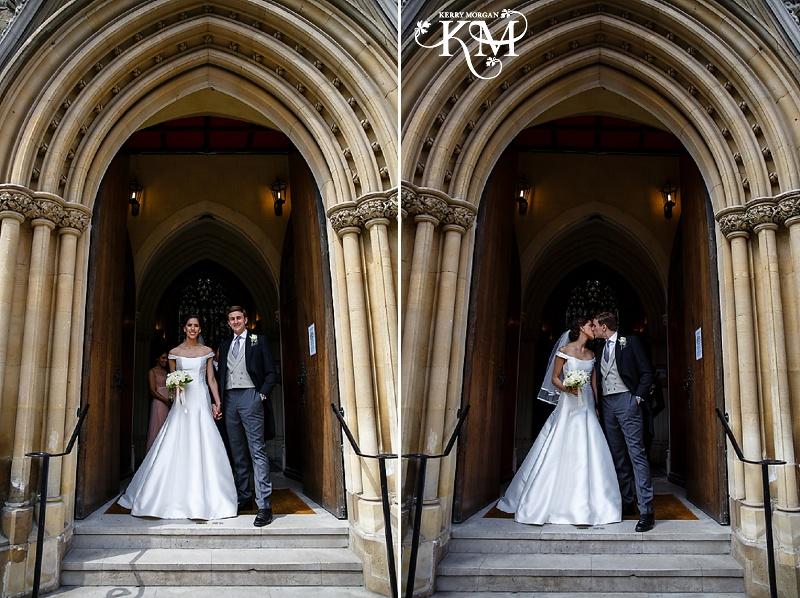 Farm Street Church London wedding photos