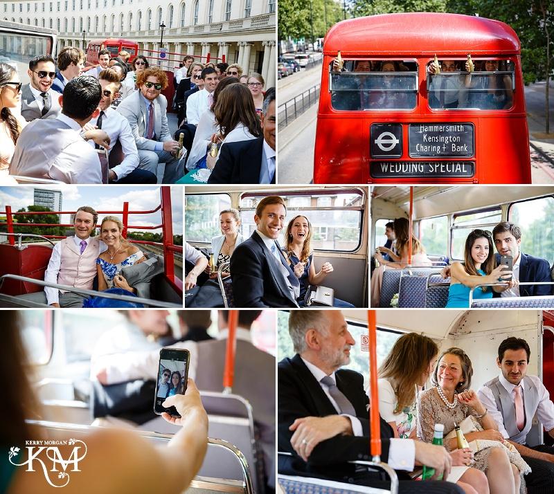 london bus photos wedding