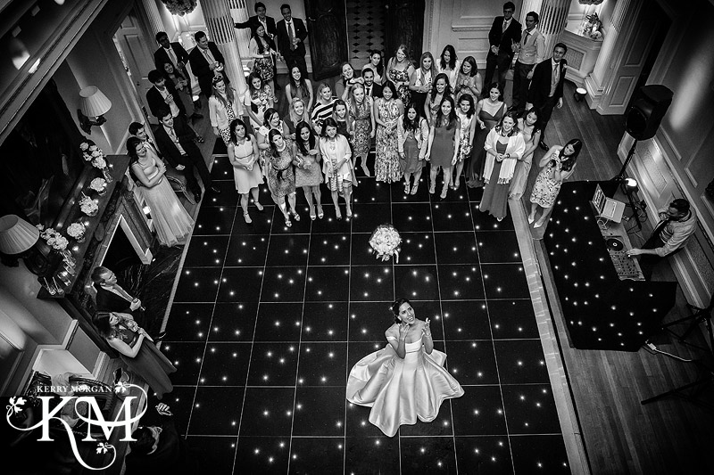 The bouquet toss hedsor house
