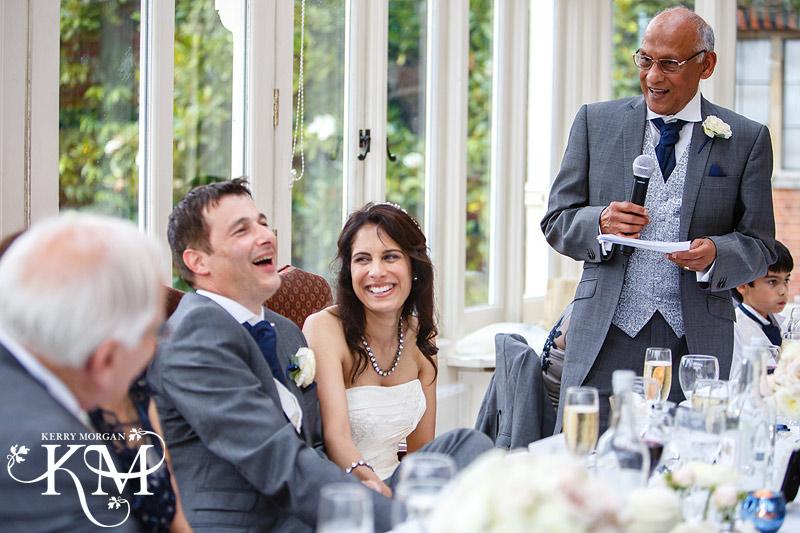 Elvetham wedding speechs