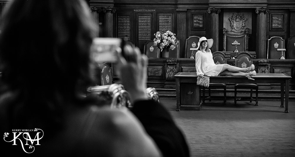 documentary london wedding photographer at Islington Register Office Wedding