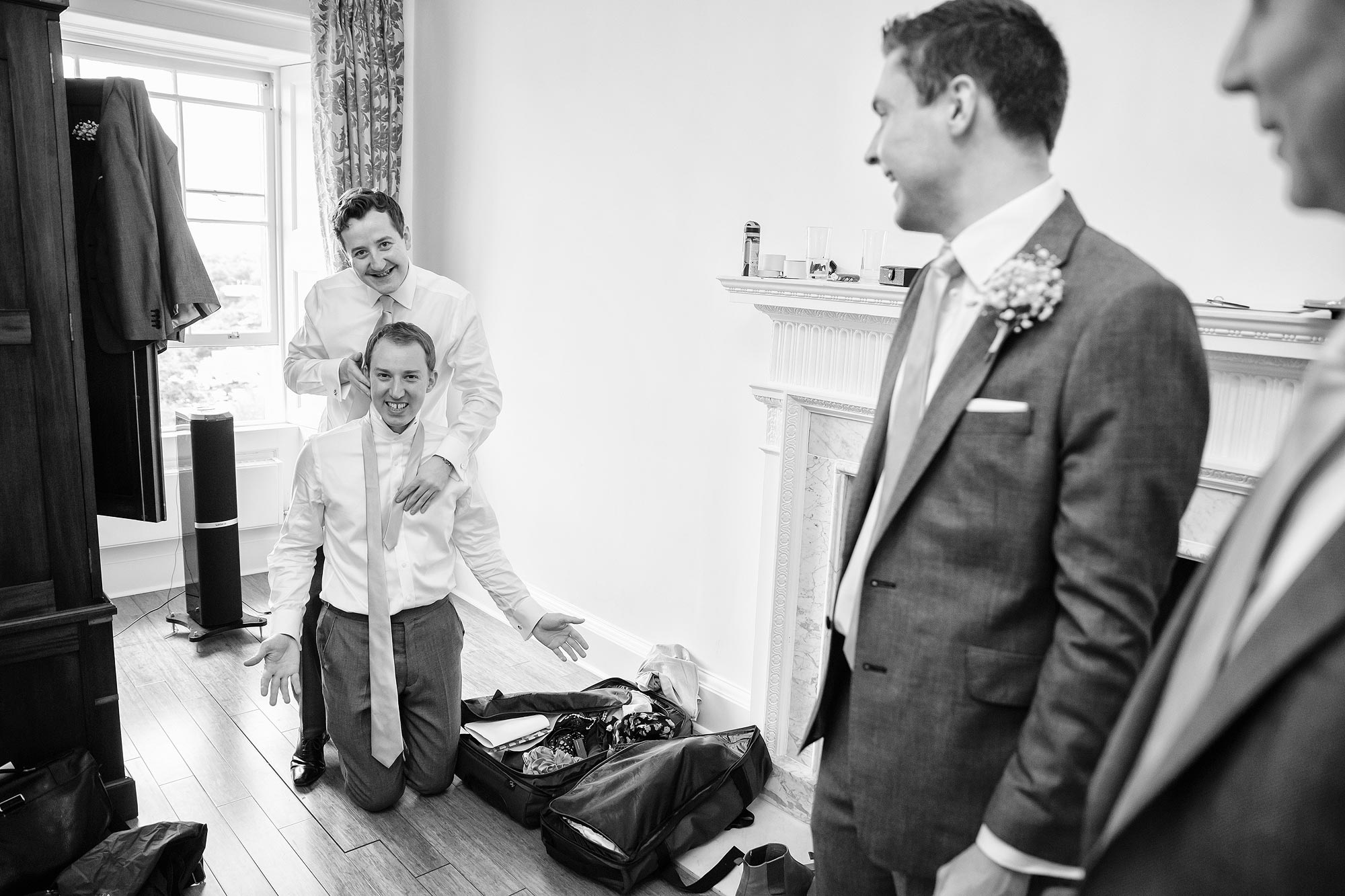 documentary wedding photographer Kerry Morgan