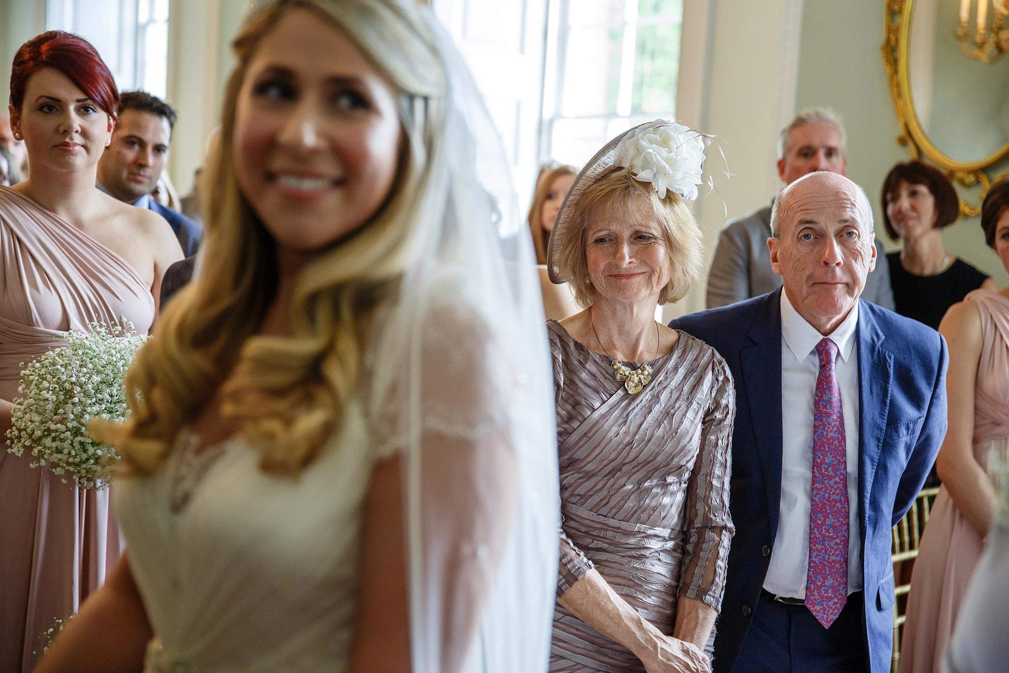 parents wedding ceremony botleys mansion