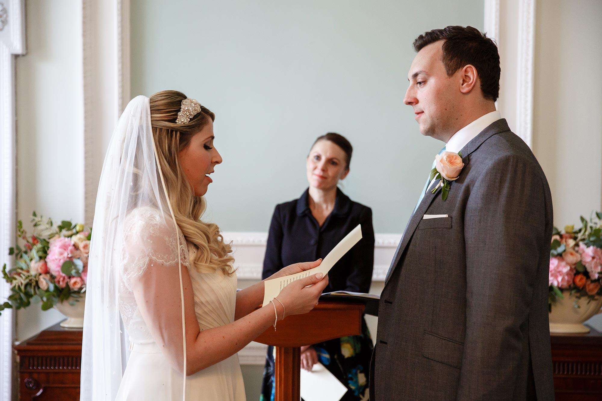 vows at botleys mansion