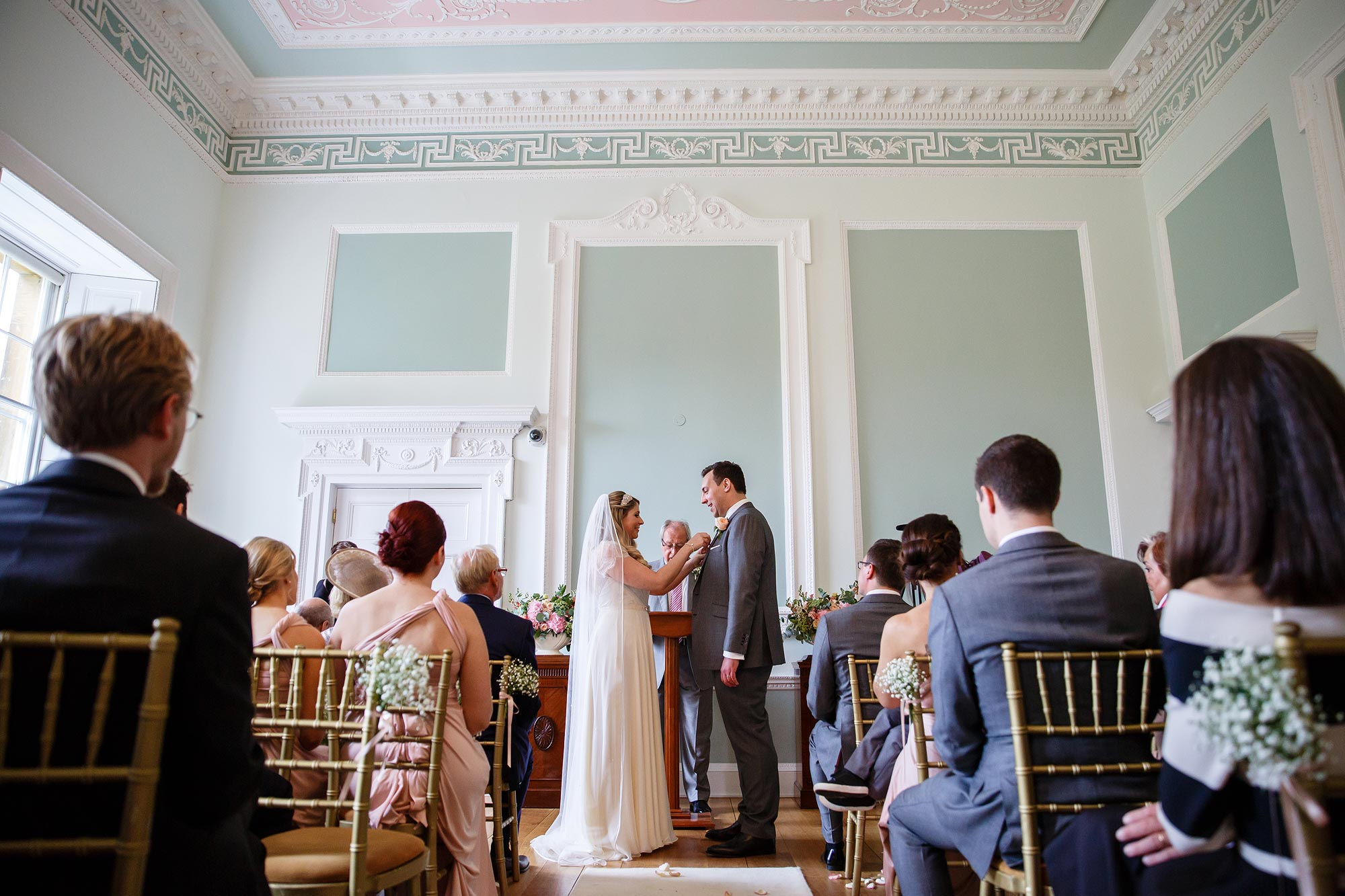 wedding ceremony botleys mansion