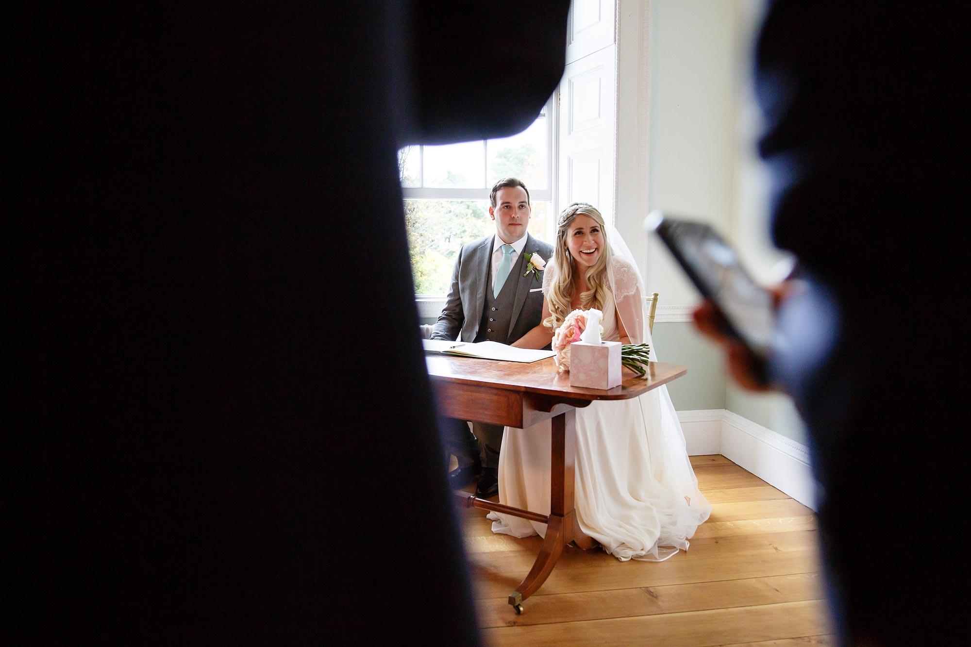 Botleys Mansion wedding ceremony