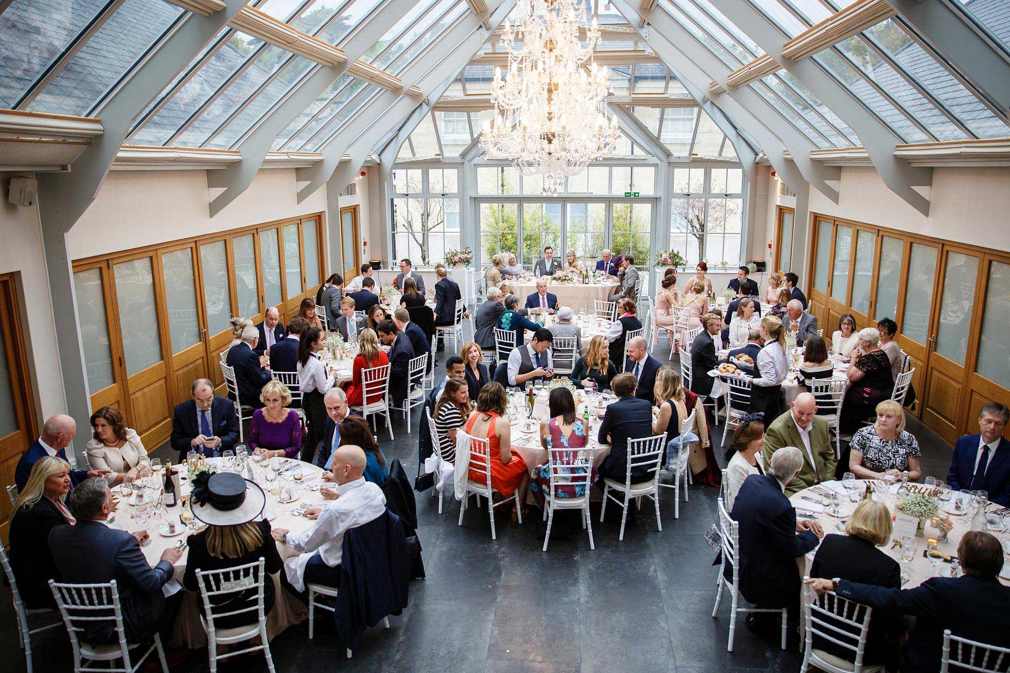 conservatory Botleys Mansion Wedding