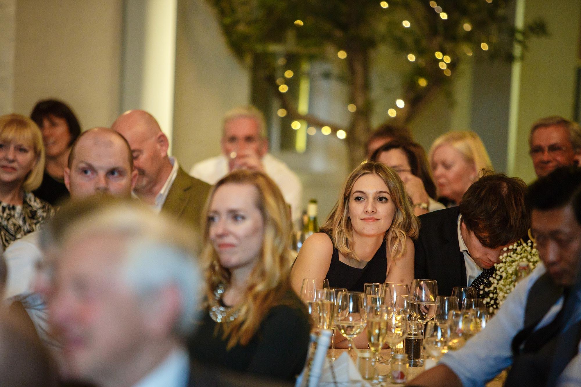 guests at Botleys Mansion Wedding