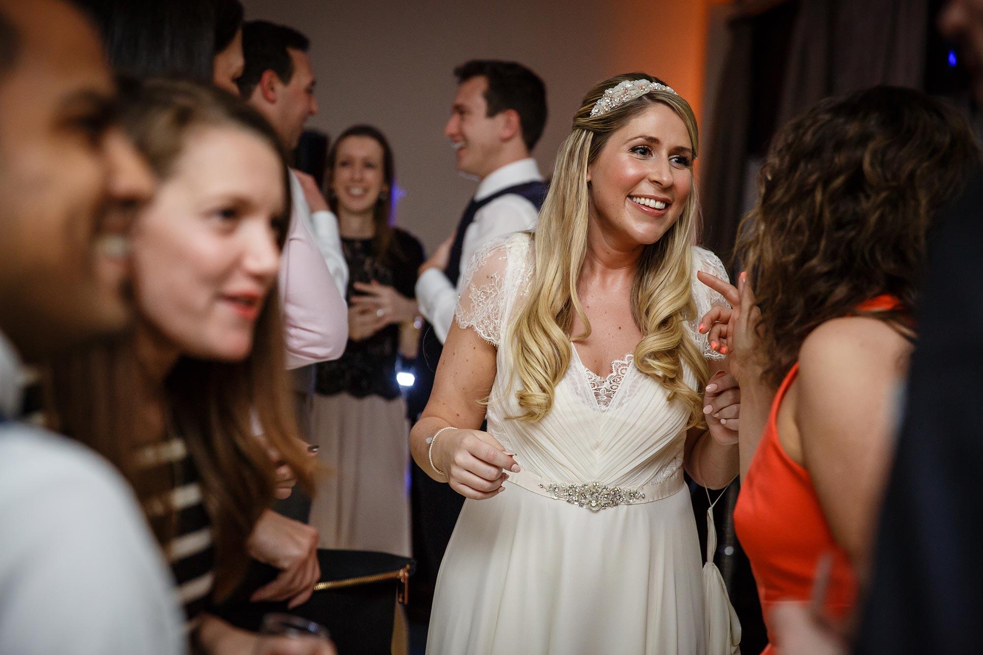 Botleys Mansion Wedding bride dancing
