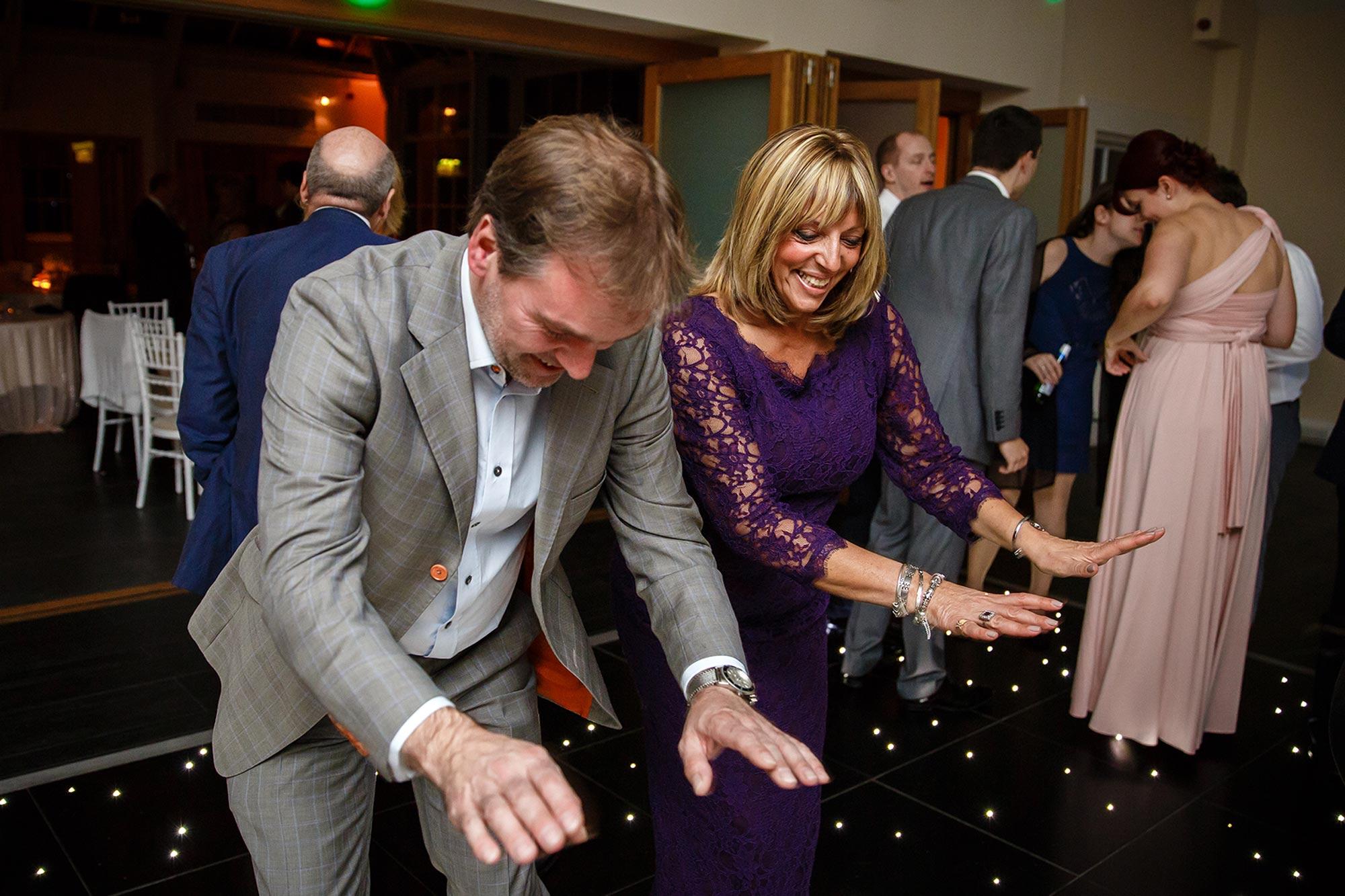 Botleys Mansion Wedding crazy dancing