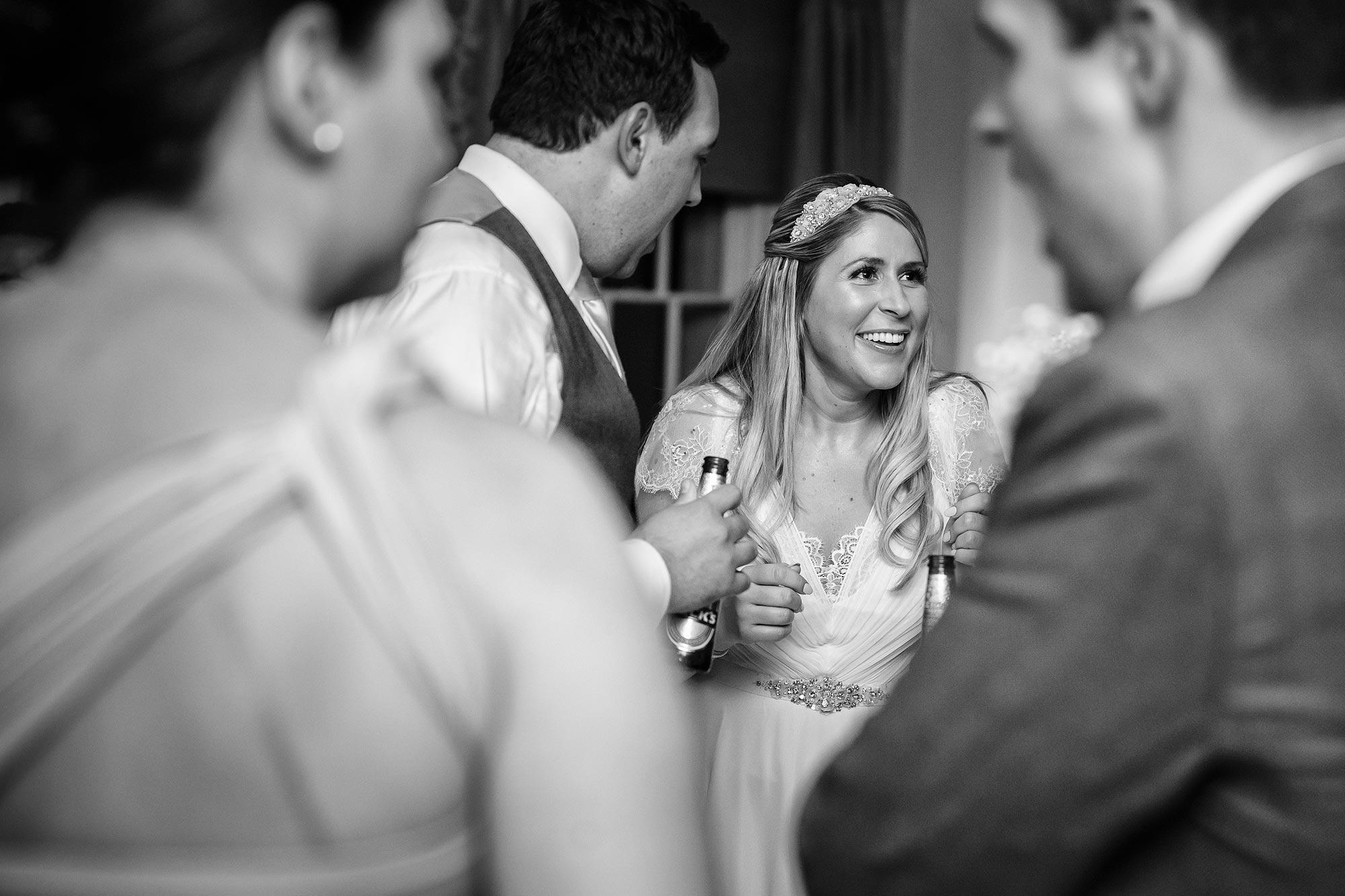 Botleys Mansion Wedding beers
