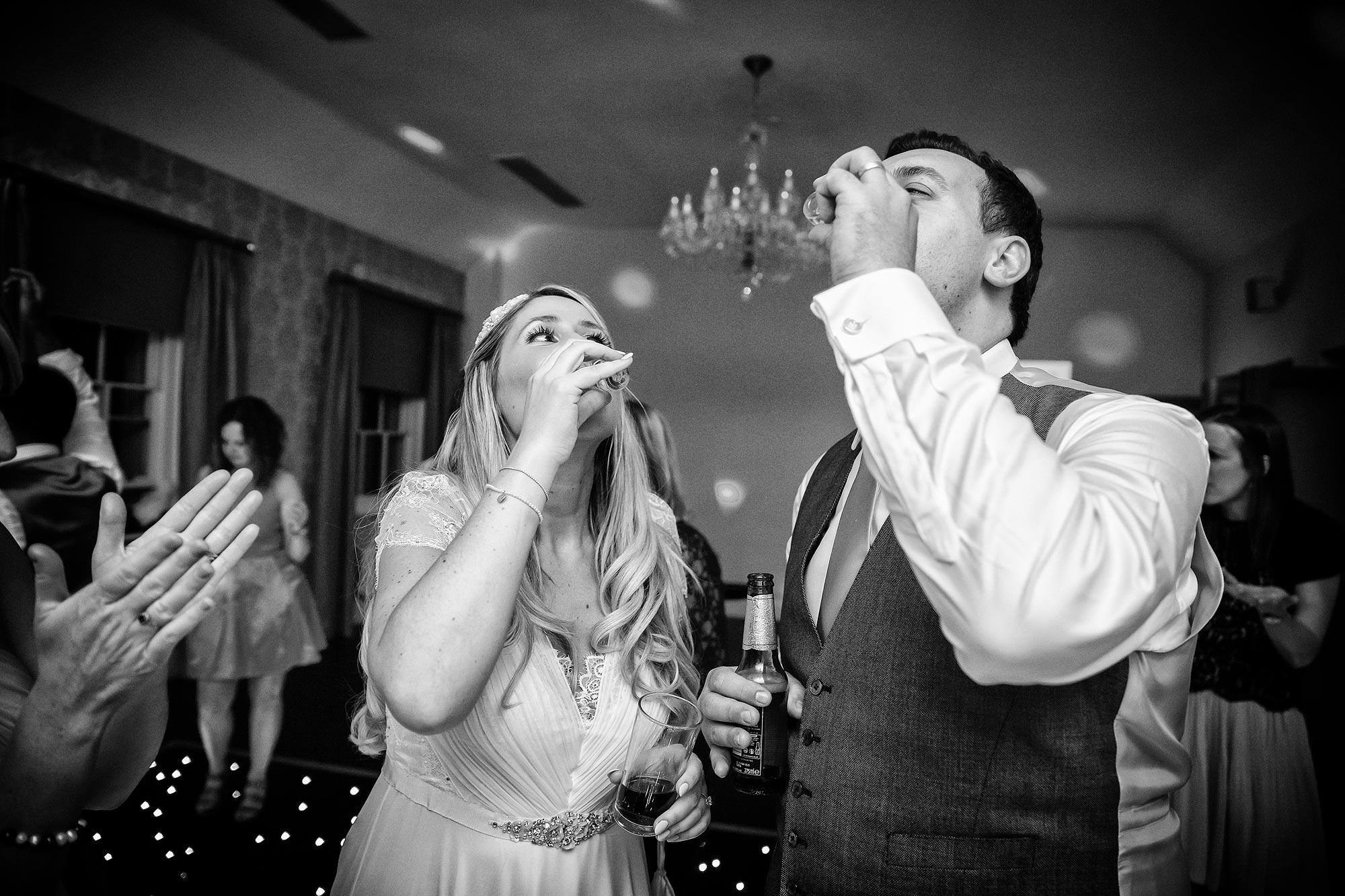 Botleys Mansion Wedding drinks