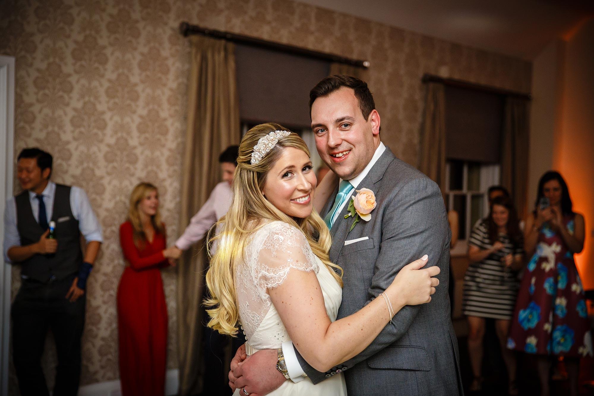 Botleys Mansion Wedding dancing