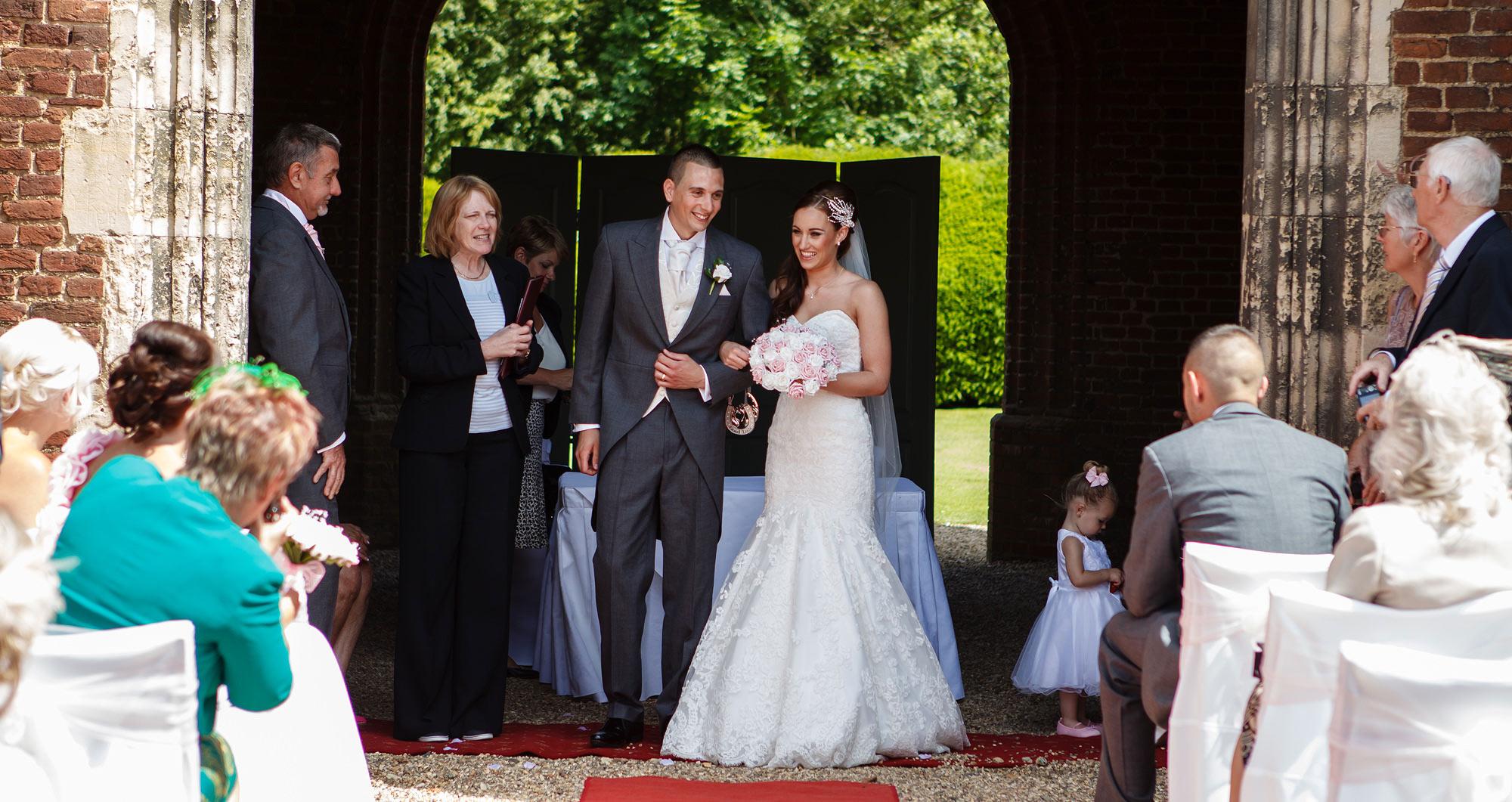 married at leez priory