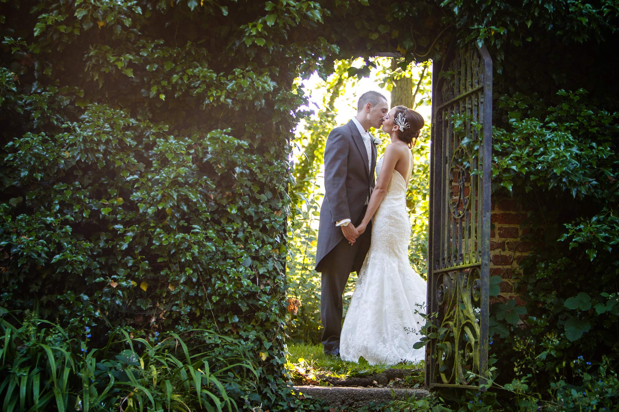 secret garden wedding leez priory