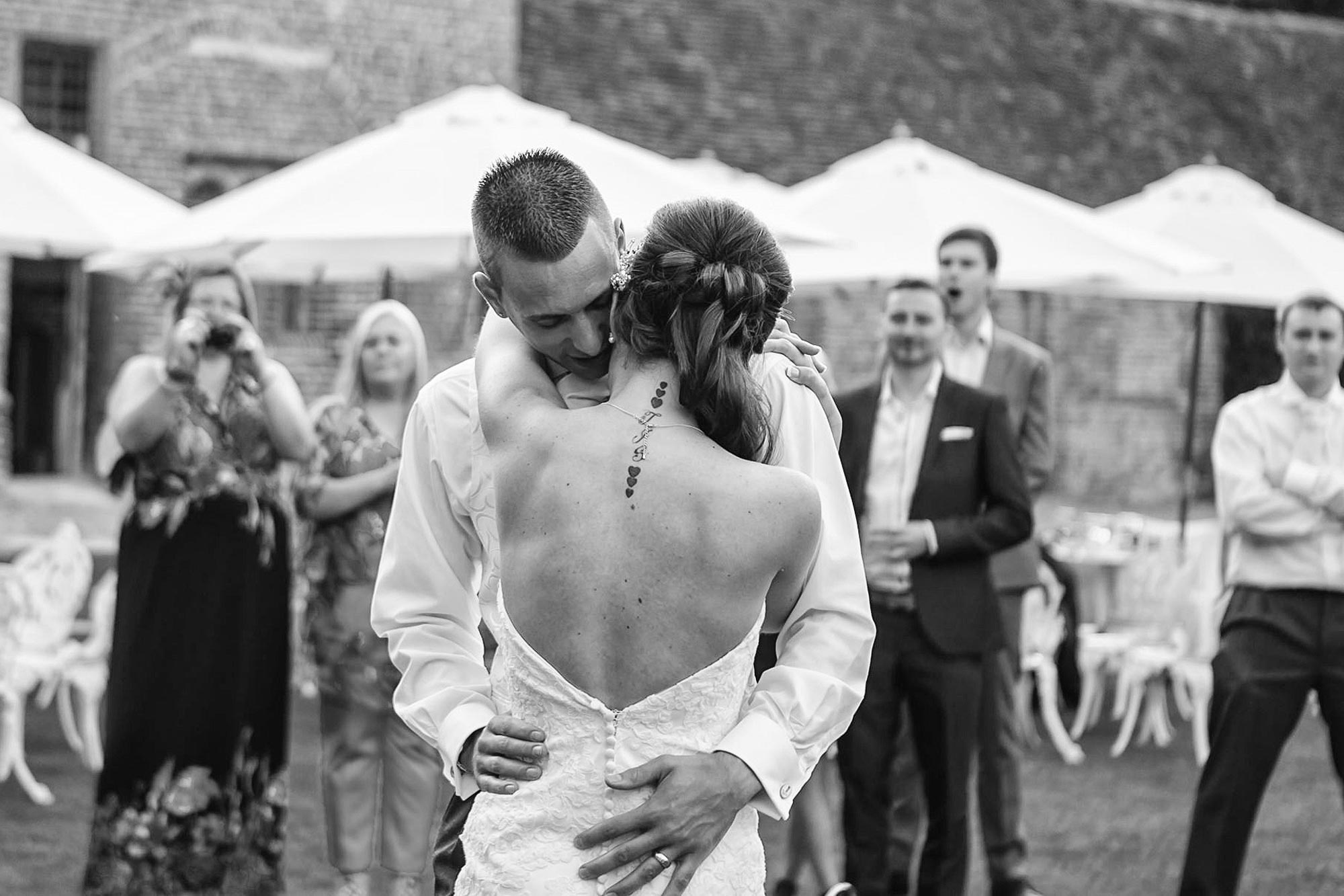first dance outside leez priory