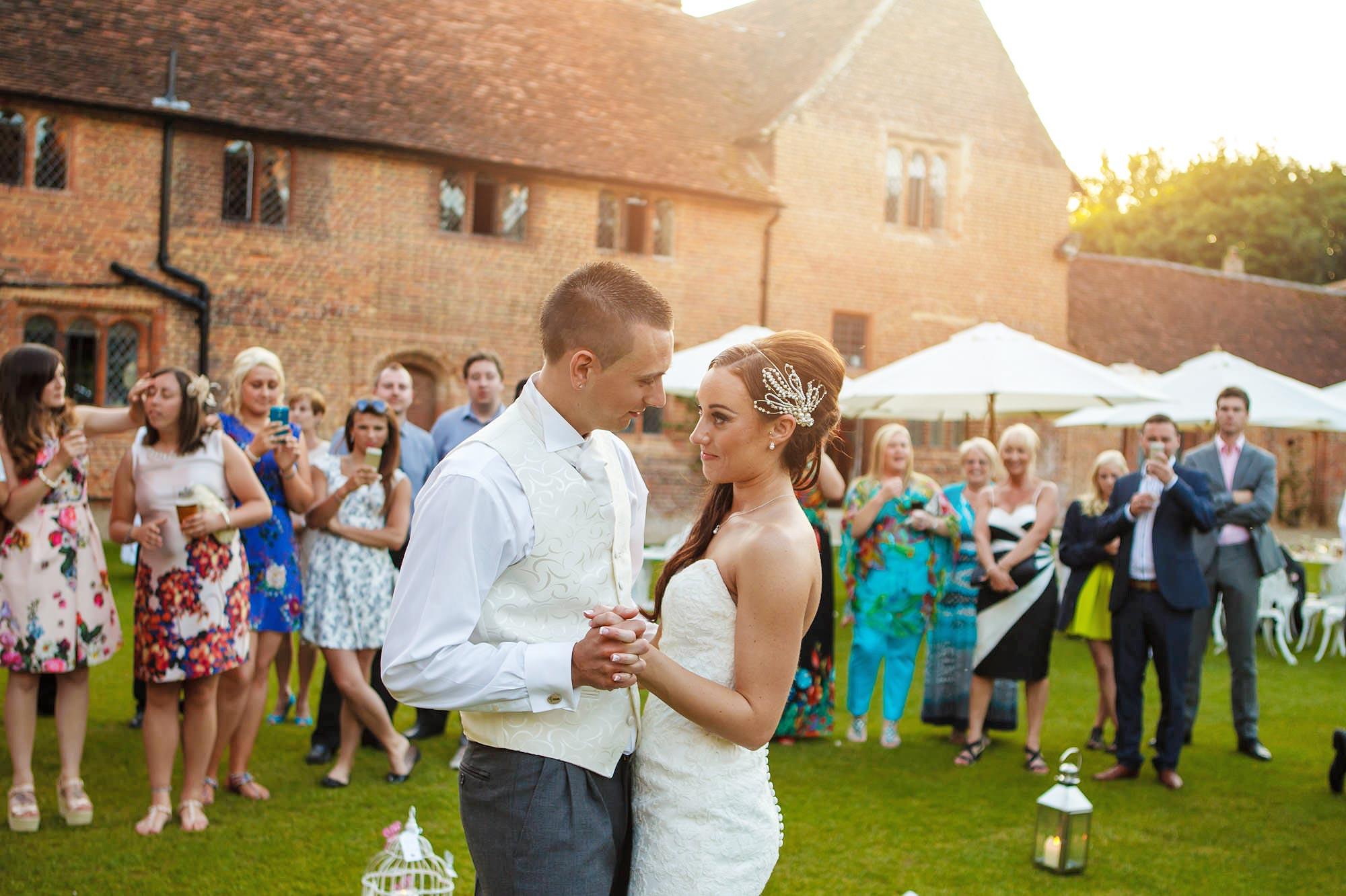 Leez Priory Wedding dancing
