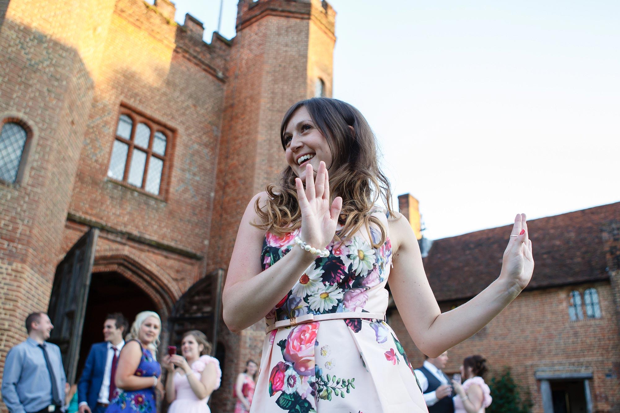 Leez Priory Wedding disco