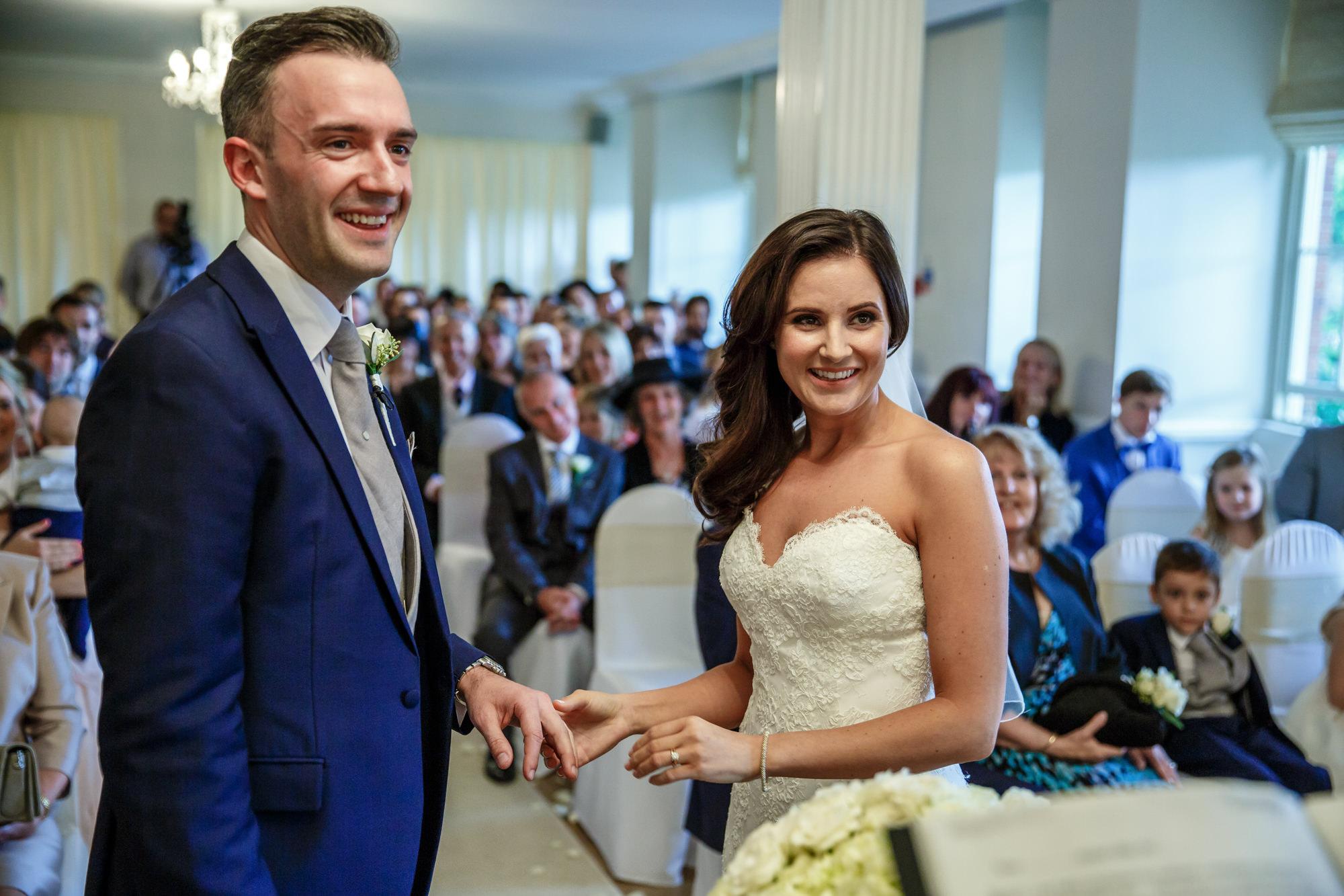 wedding photos parklands quendon hall