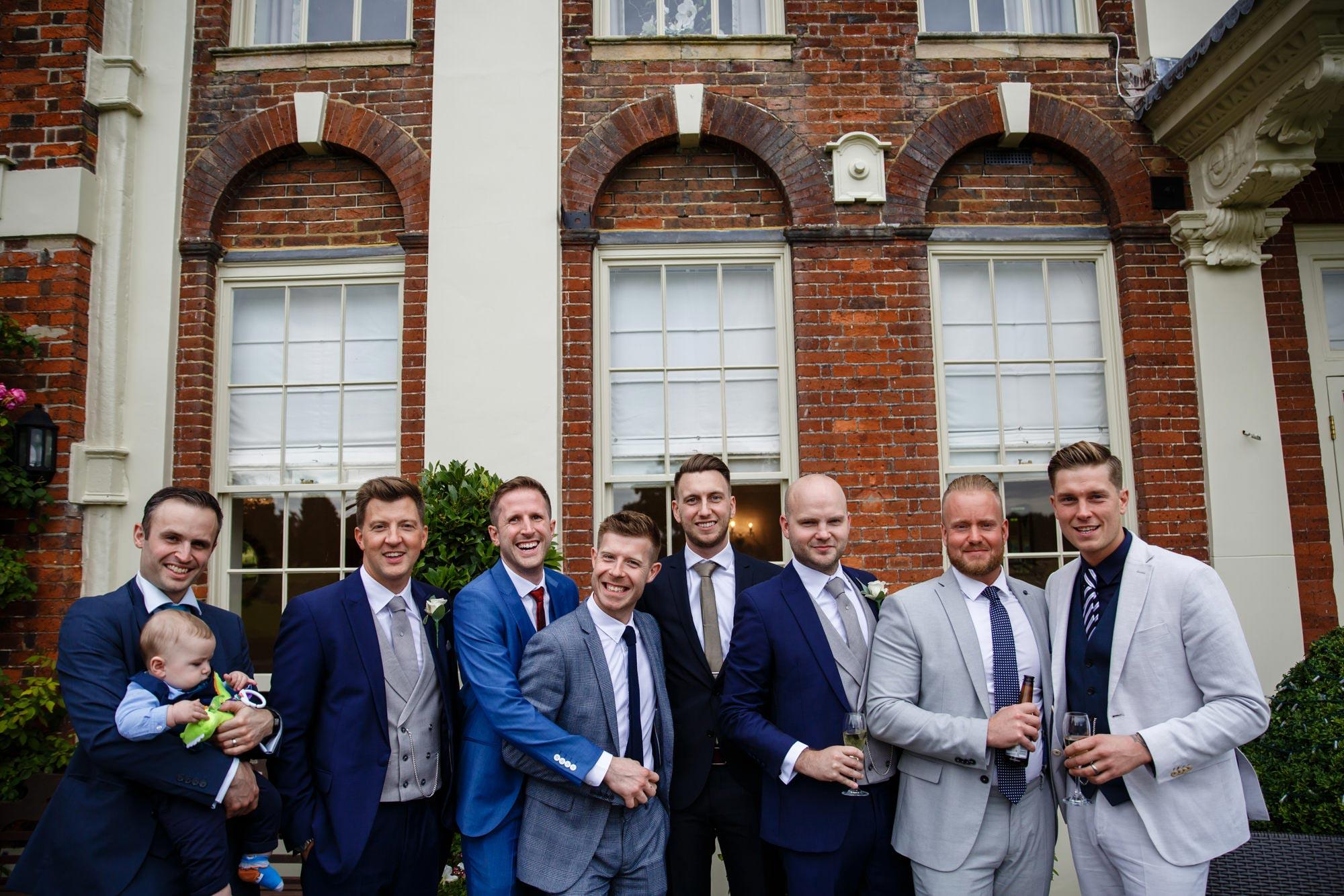 Parklands Quendon Hall Wedding
