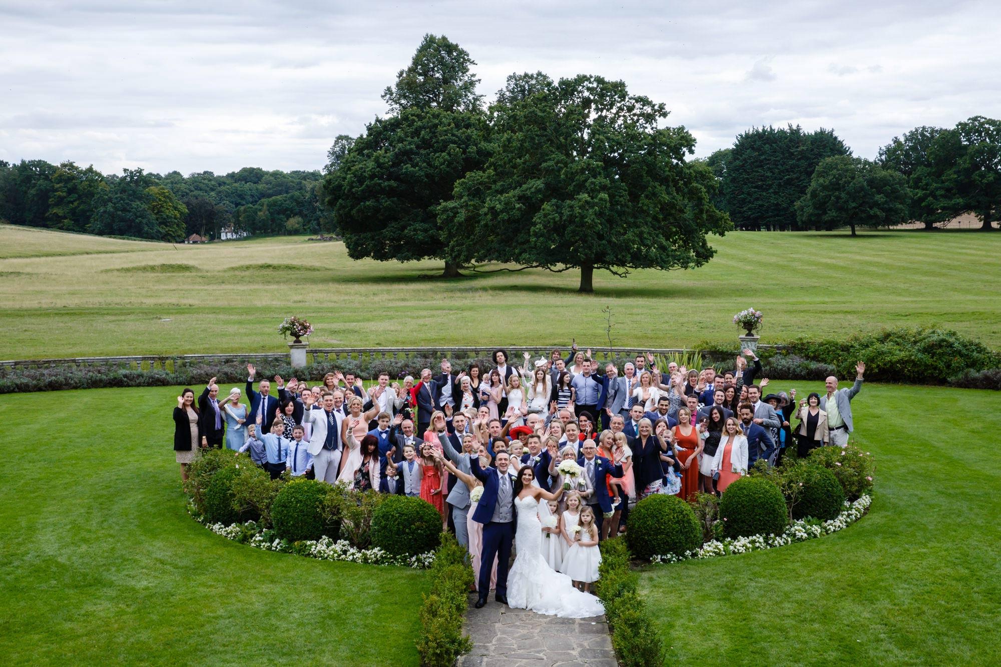 Parklands Quendon Hall Wedding Photos