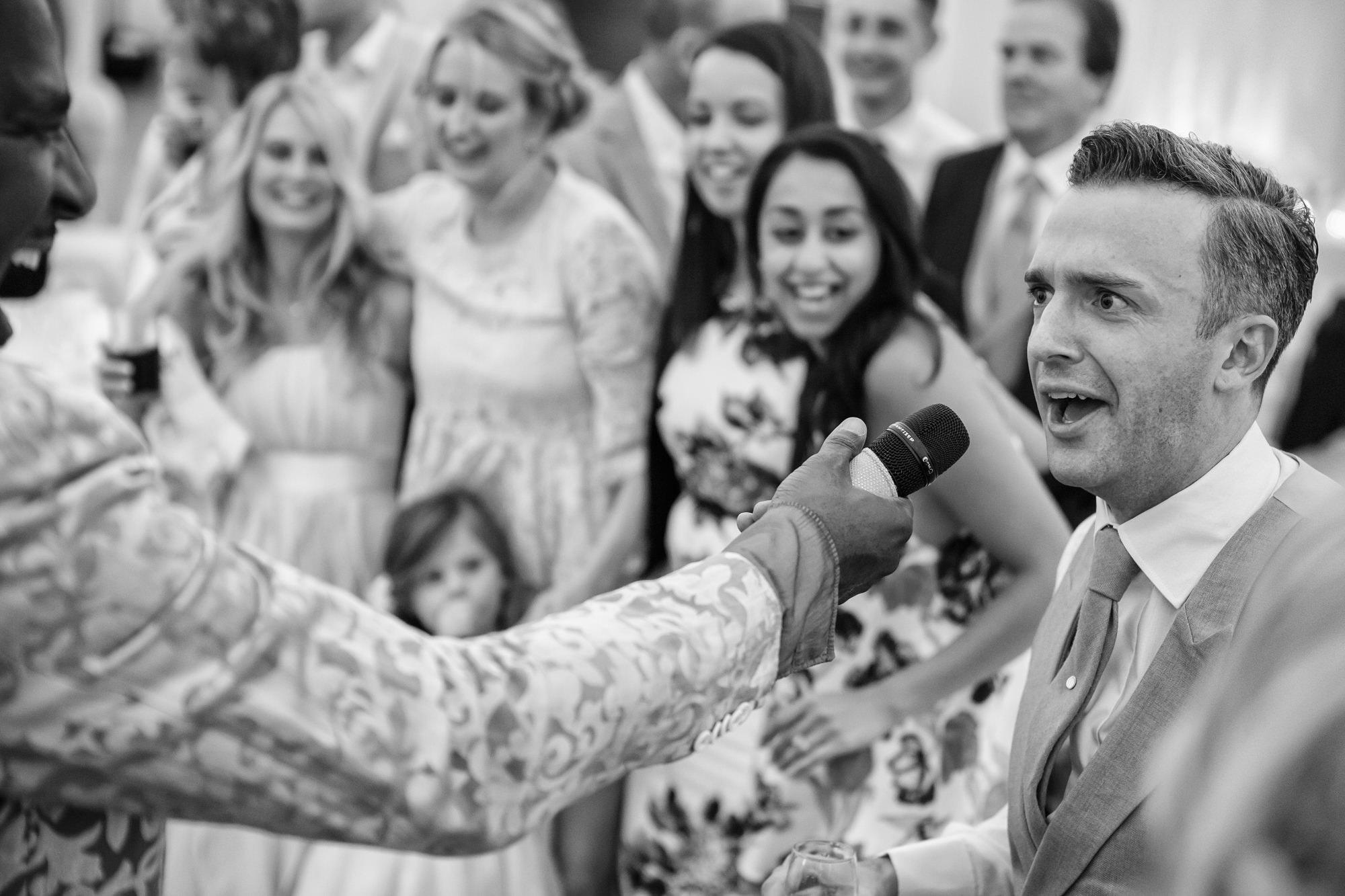 Fil Straughan wedding vocals