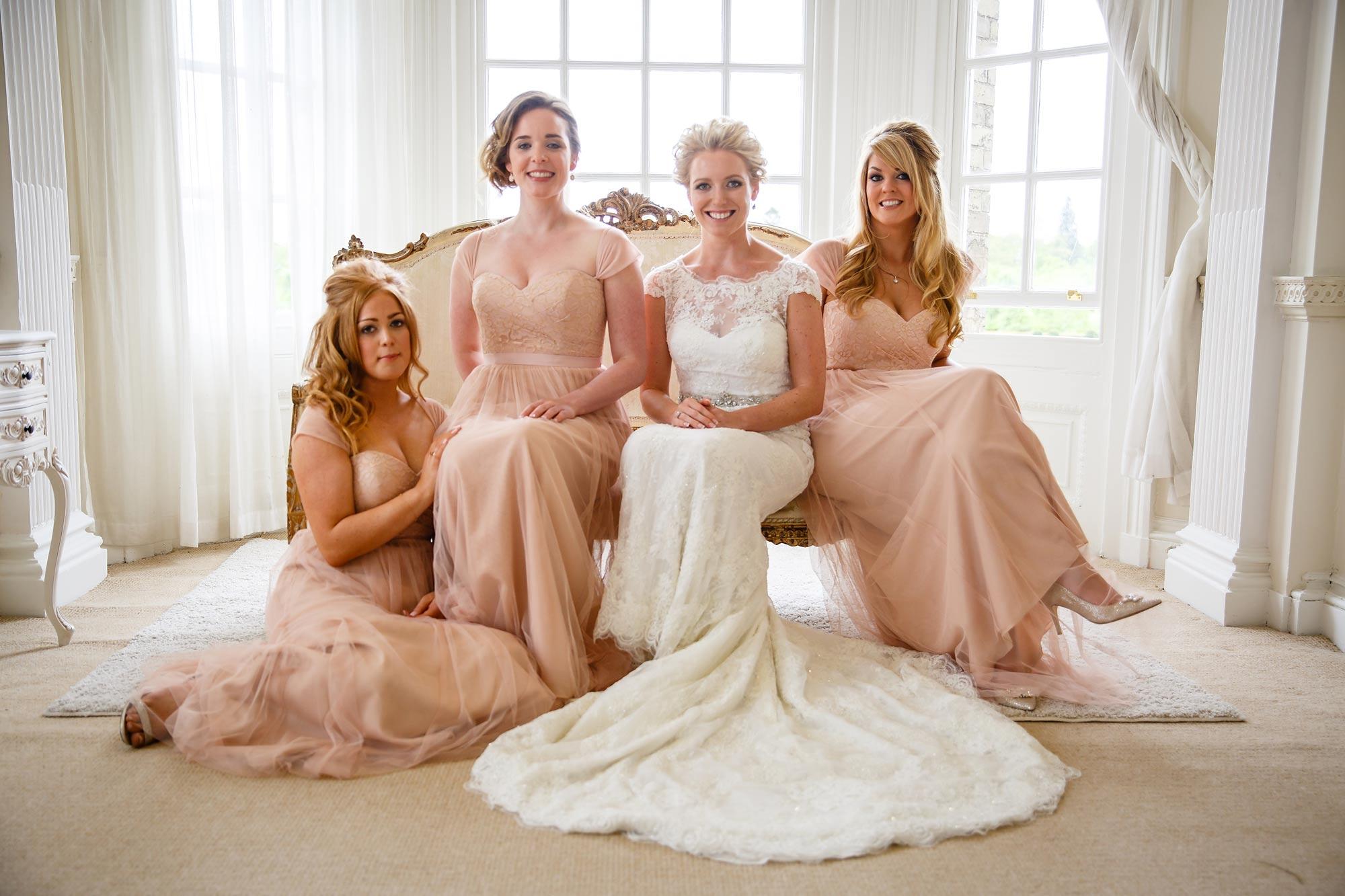 Hedsor House Wedding bridesmaids