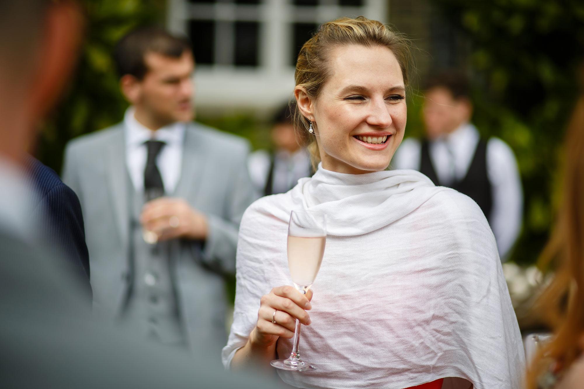 guests at wedding