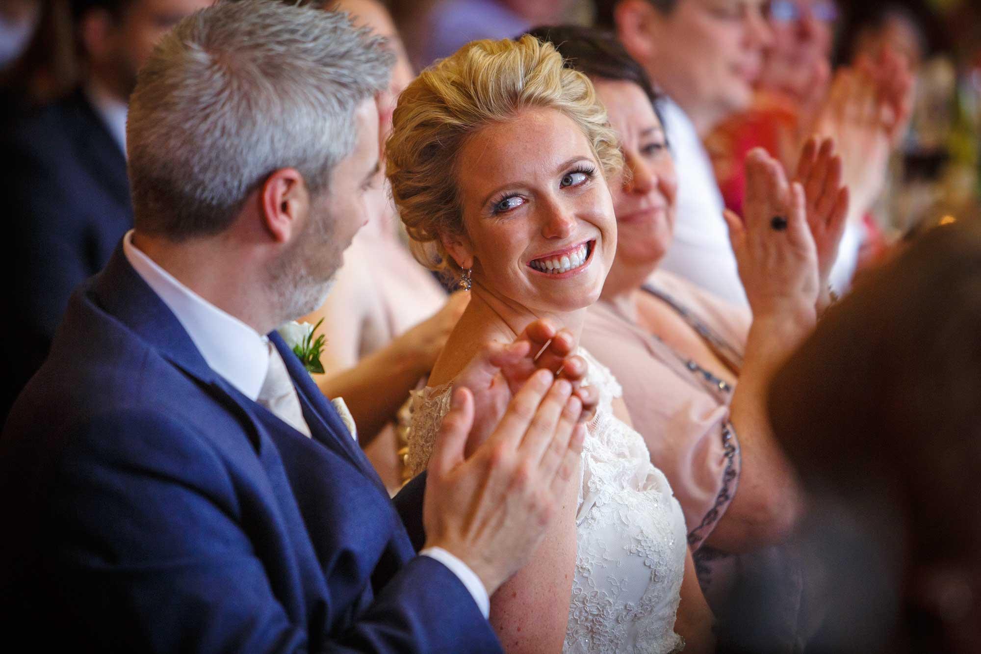 bride at Hedsor House Wedding