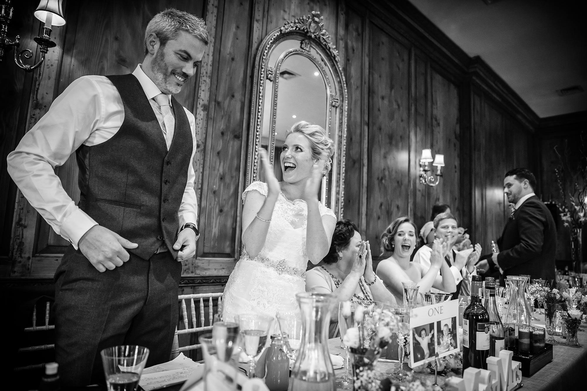 groom at Hedsor House Wedding