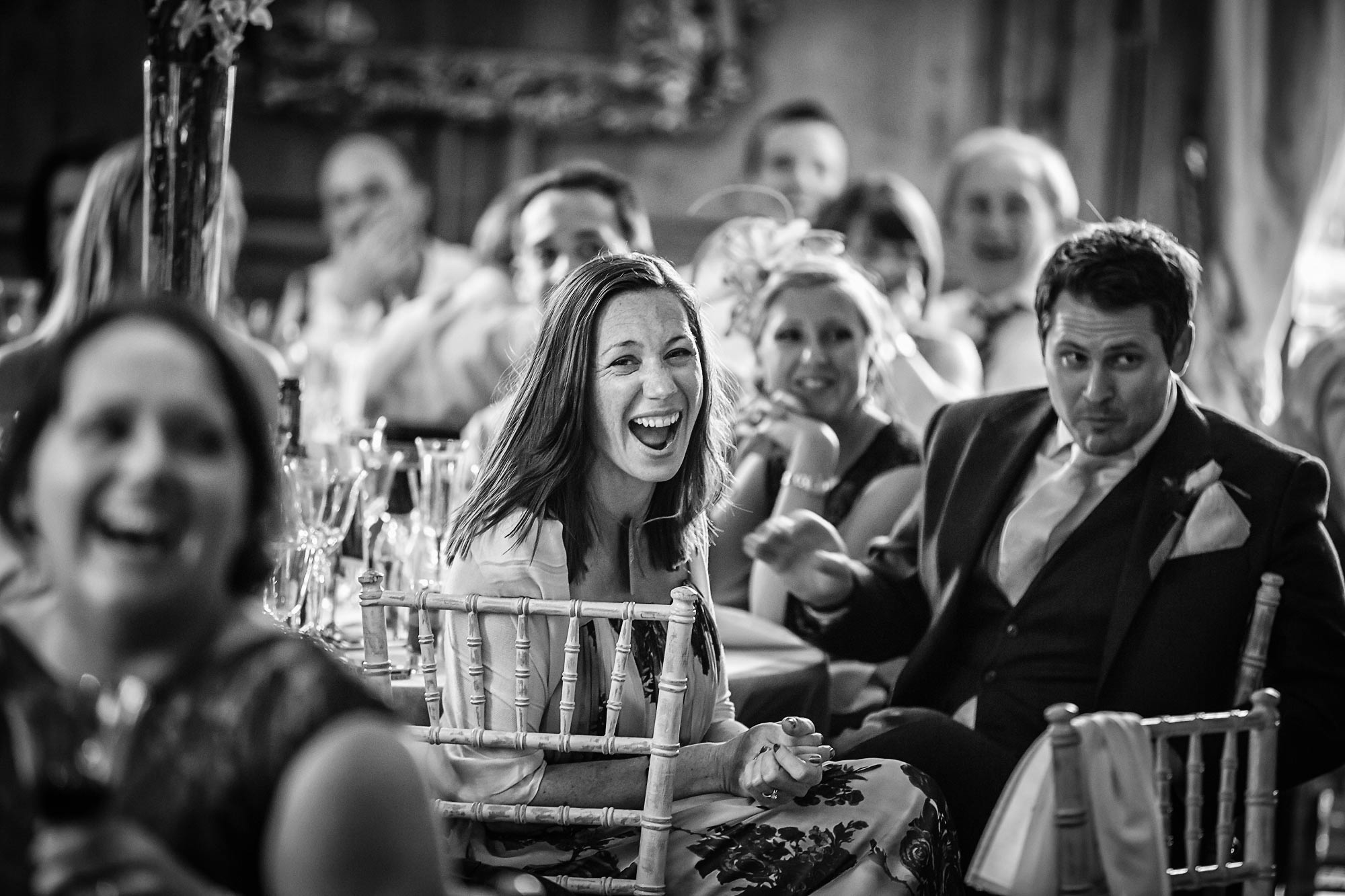 speeches at Hedsor House Wedding