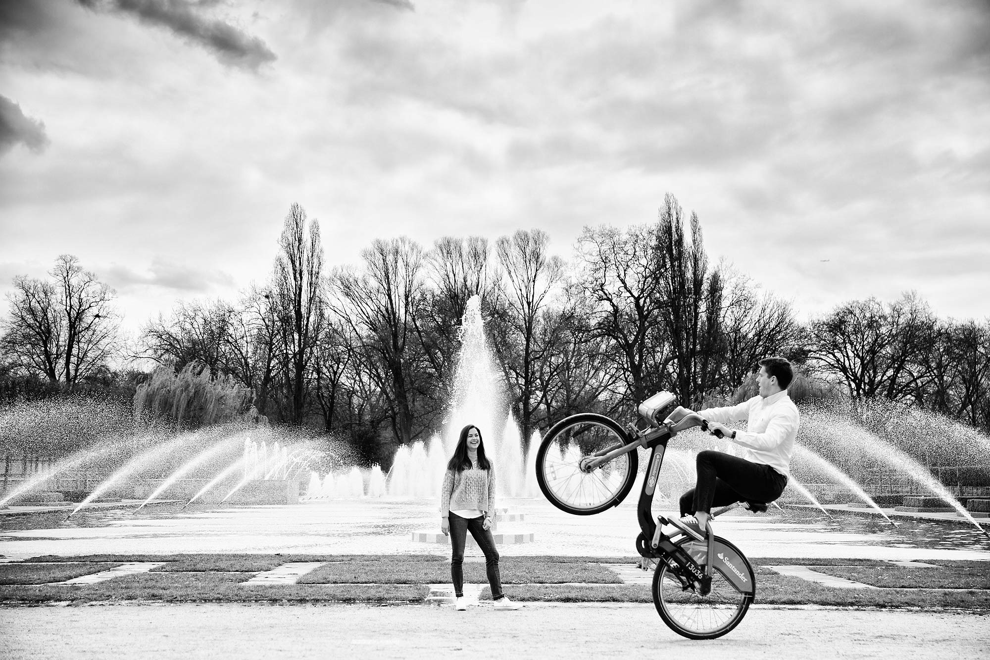 battersea park engagement photographer