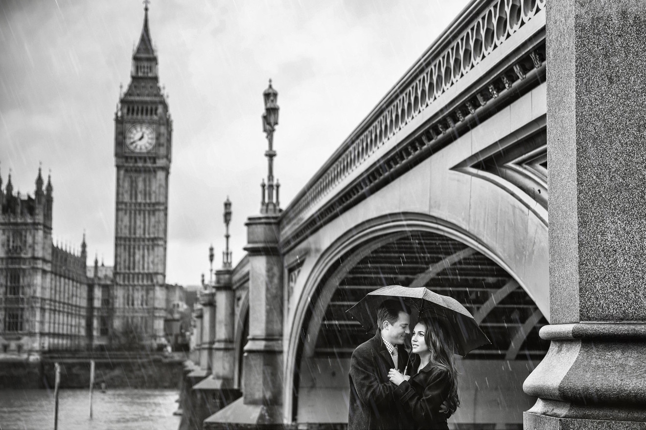 London Engagement Pictures