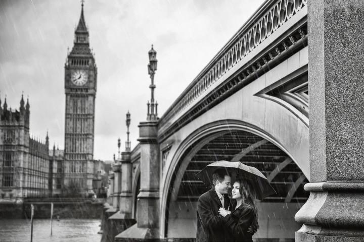 London Engagement Pictures