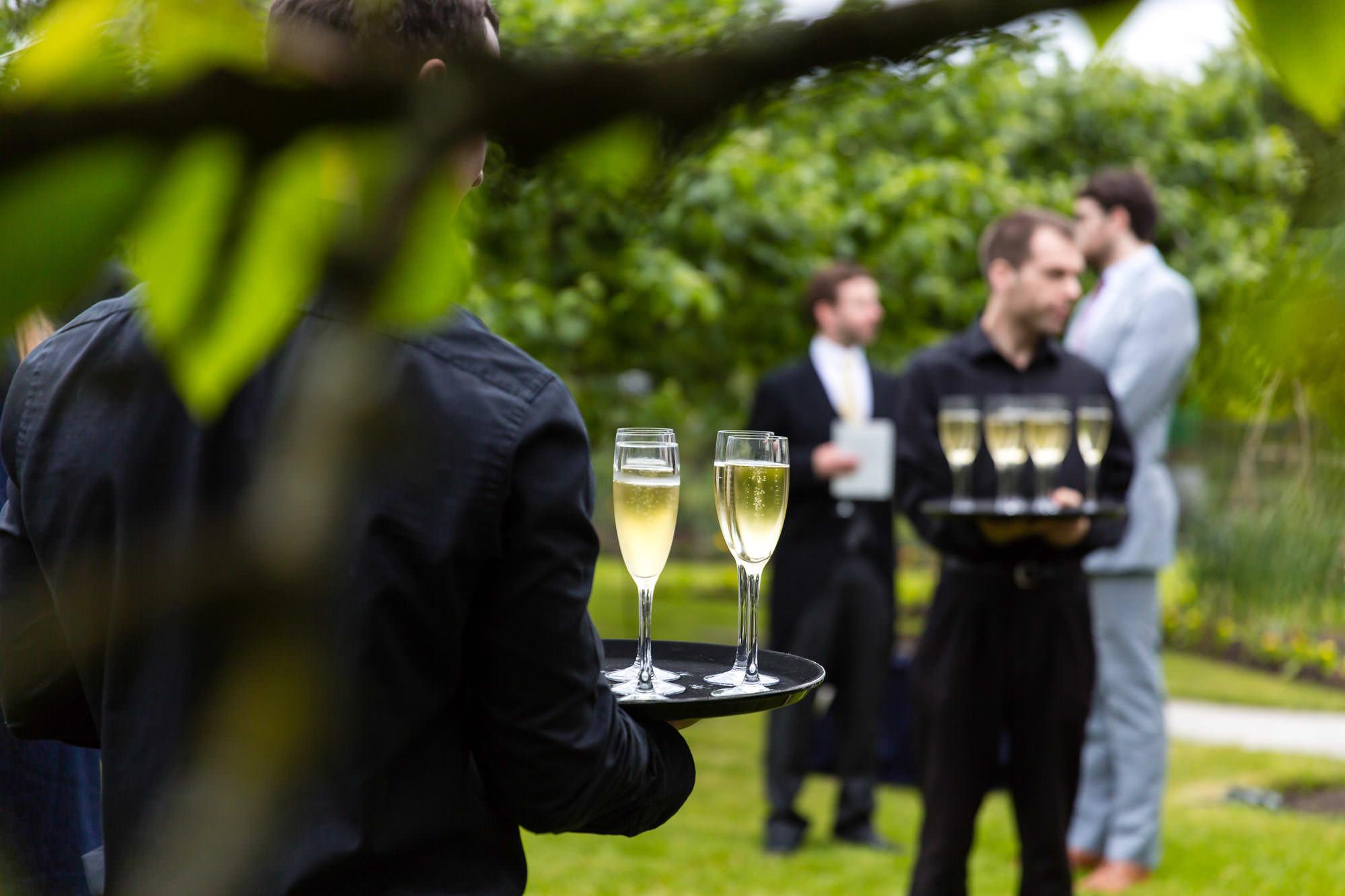 Bovingdons serve champagne