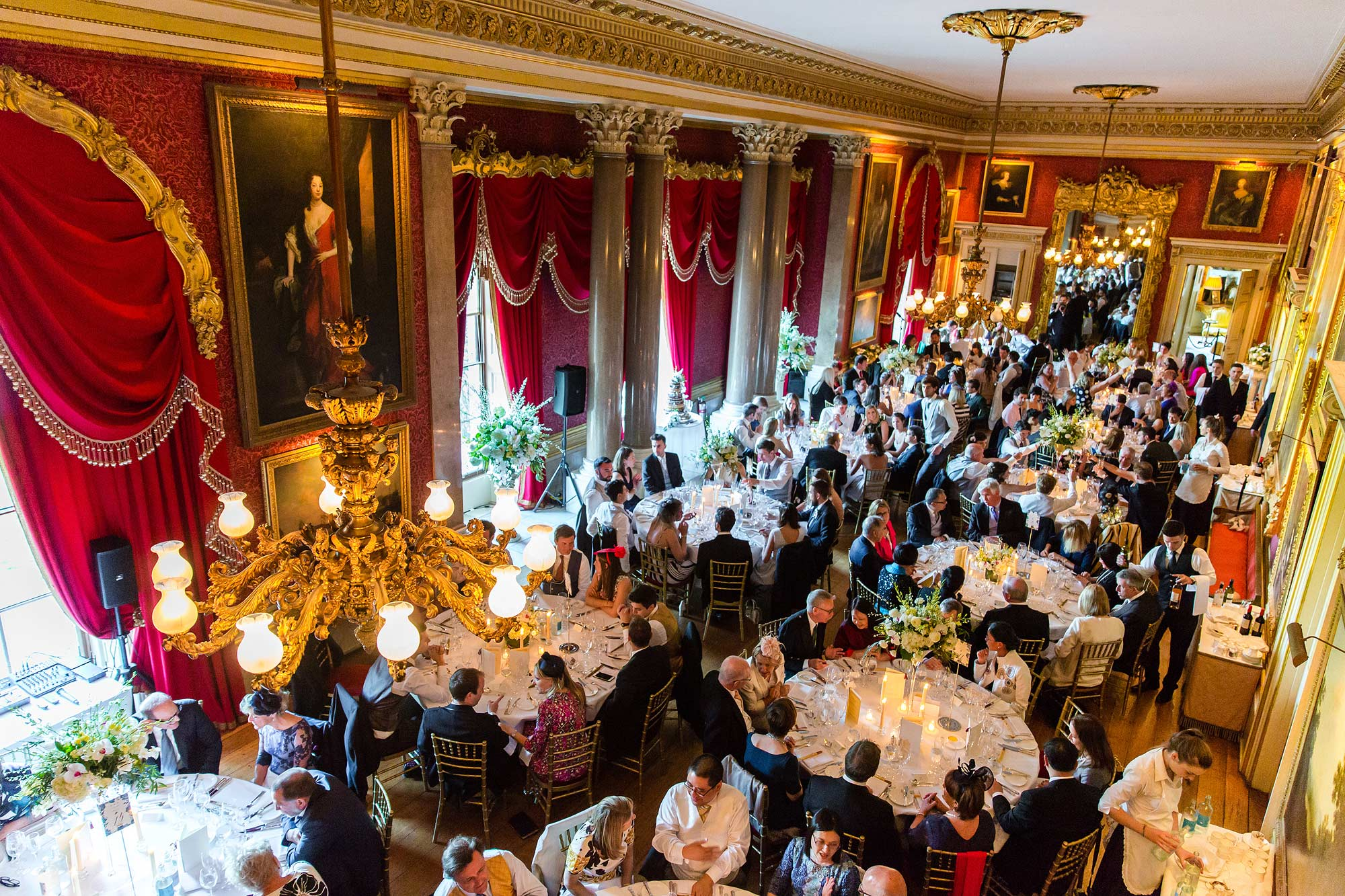 Goodwood House Wedding breakfast