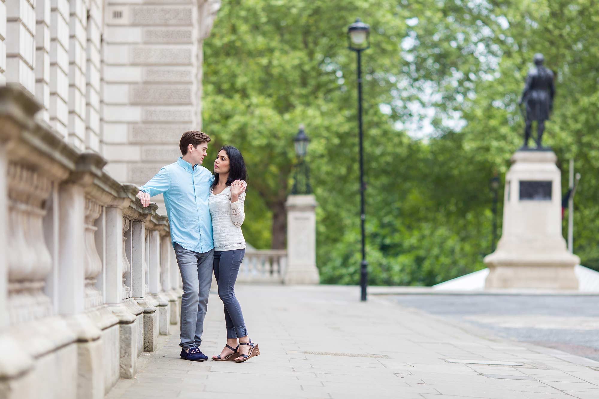 London photo shoot in summer