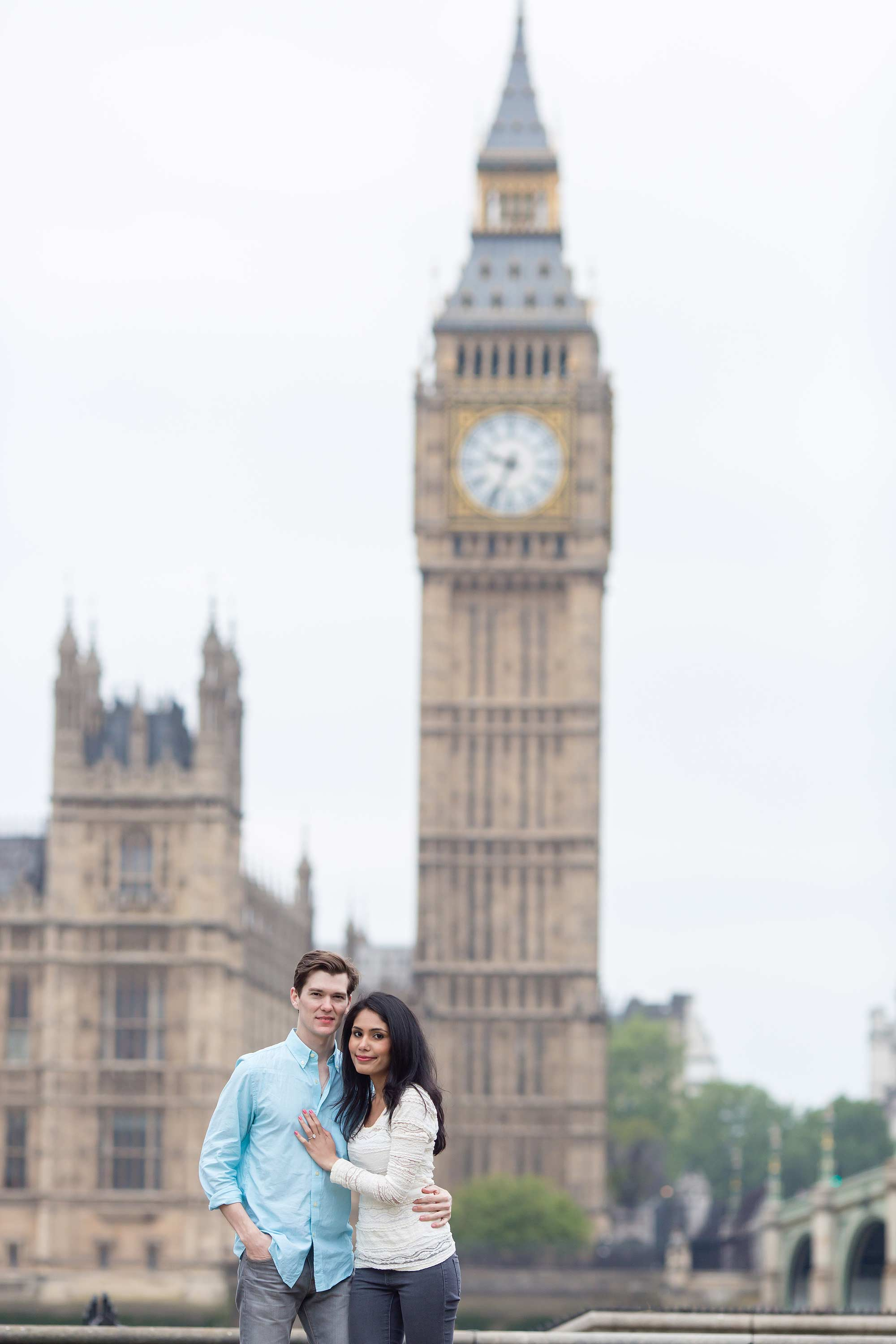 engagement shoot big ben