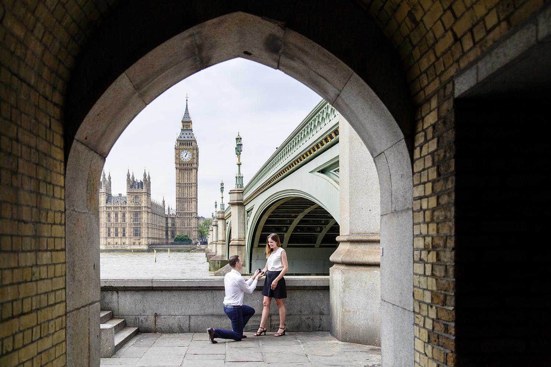 proposal shoot london