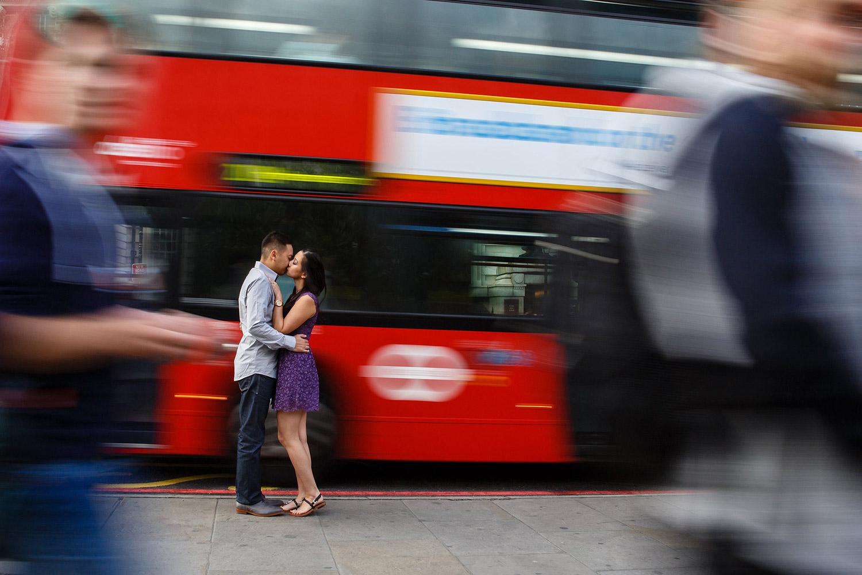 fun engagement shoot london