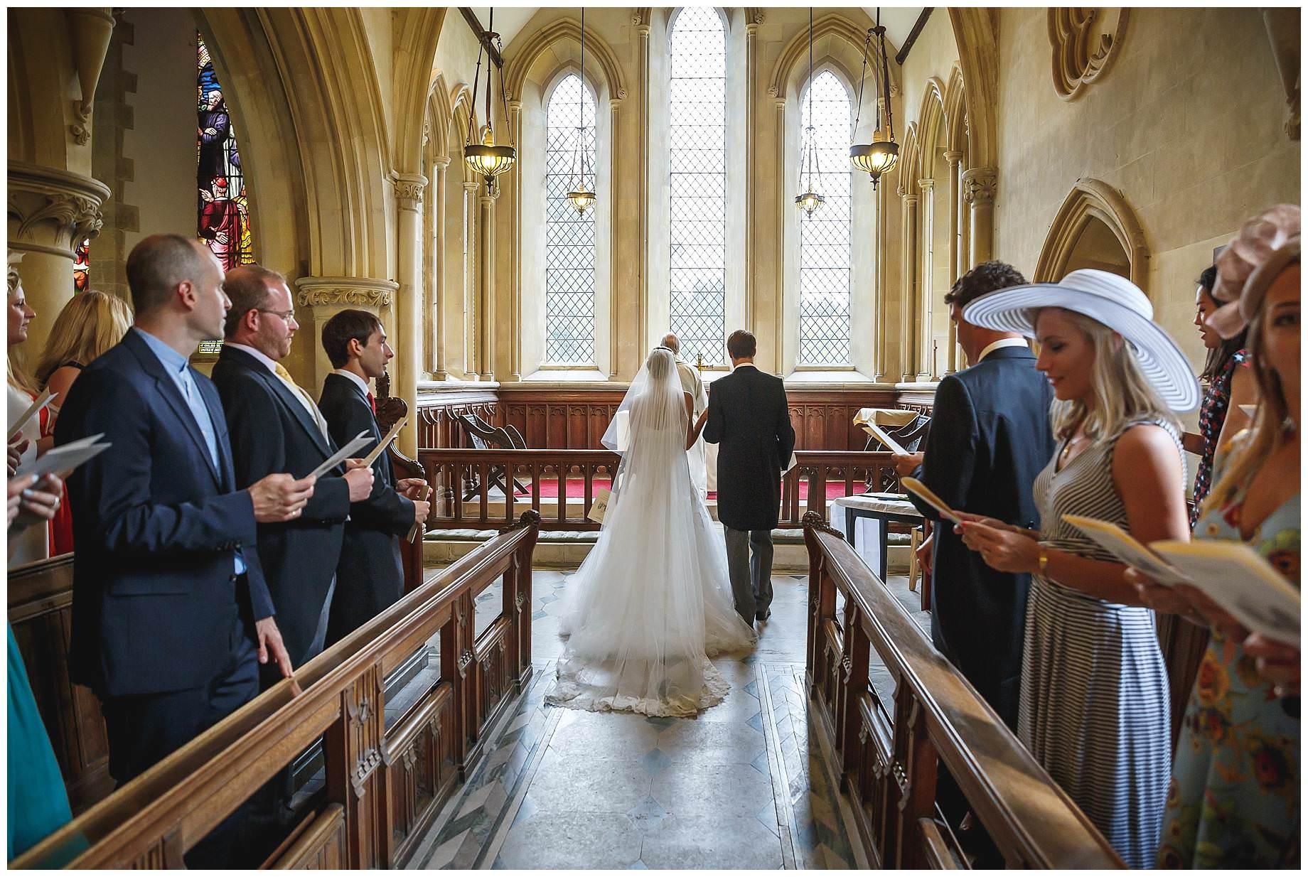 Goodnestone Park Wedding church