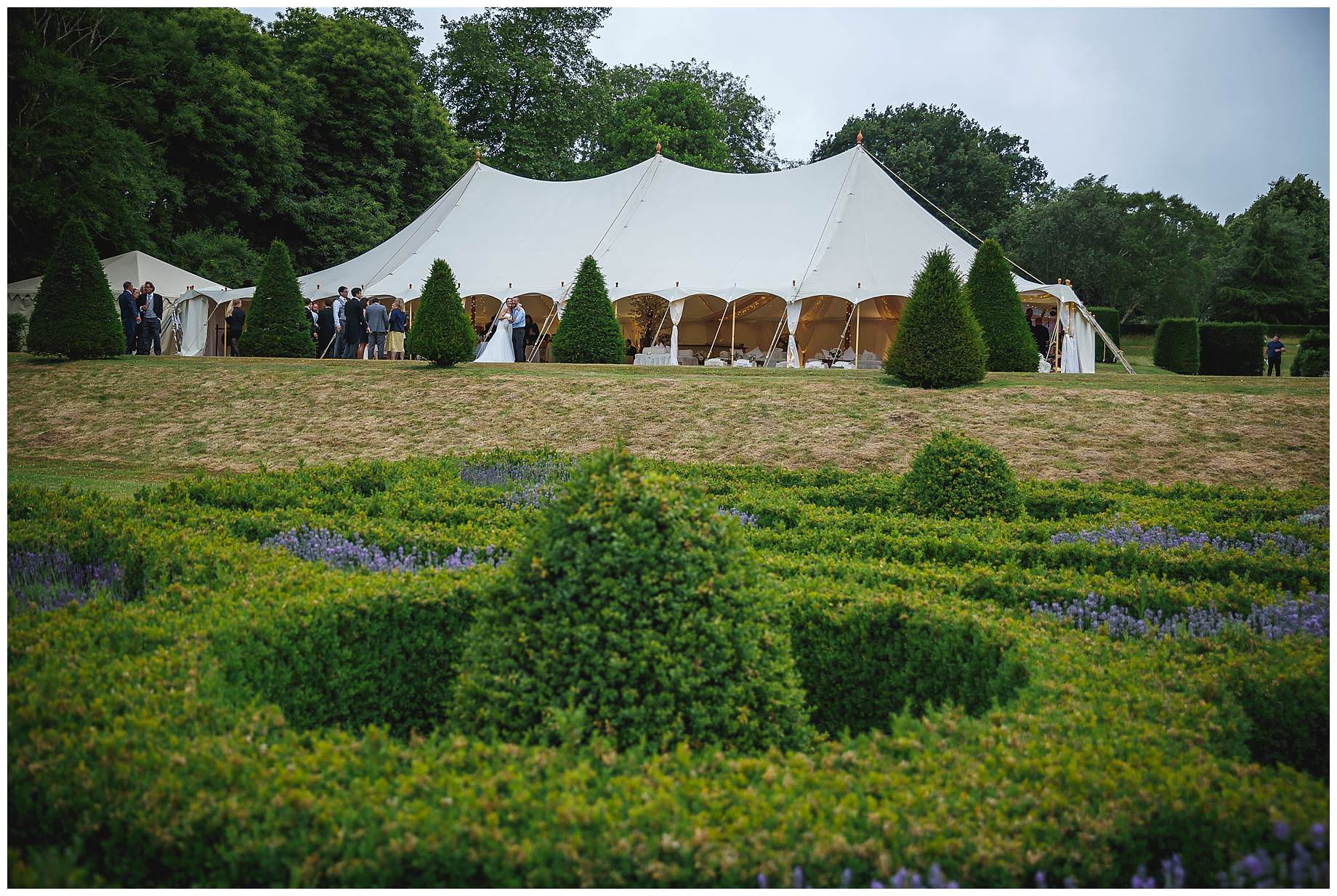 marquee at Goodnestone Park Wedding
