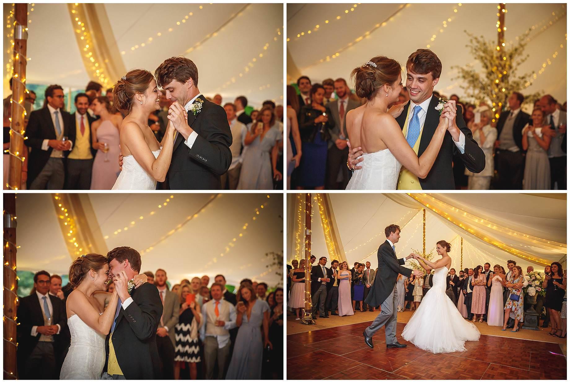 Goodnestone Park Wedding dancing
