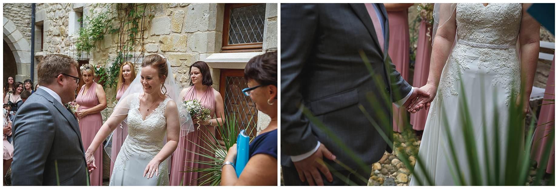 wedding at Chateau Brametourte